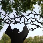 Frederick Franck's sculpture photo by Alayna Palmer Hanneken
