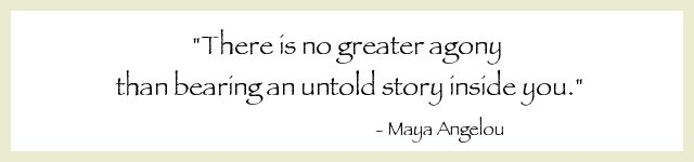 No greater agony - Maya Angelou